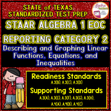 STAAR ALGEBRA 1 EOC Review Reporting Category 2 TEST PREP
