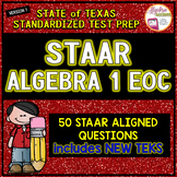 STAAR ALGEBRA 1 EOC Review TEST PREP (Version 1)