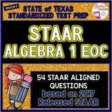 STAAR ALGEBRA 1 EOC Review TEST PREP (Version 2)