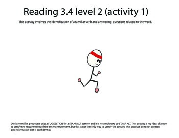 STAAR ALT 3rd Grade READING BUNDLE level 2--SUGGESTIONS!
