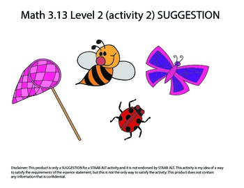 STAAR ALT 3rd L2 bundle for RDNG & MATH SUGGESTIONS (16 ac
