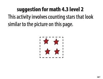 STAAR ALT 4th grade MATH BUNDLE level 2 (suggestions)
