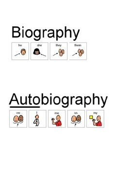 STAAR-ALT 7.7 Reading - lvl 3 - biographies and autobiographies