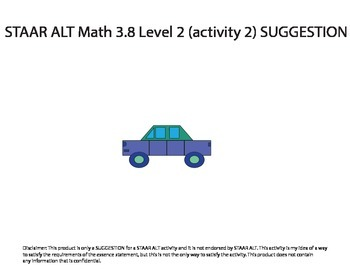 STAAR ALT MATH 3.8 Level 2 (activity 2) SUGGESTION