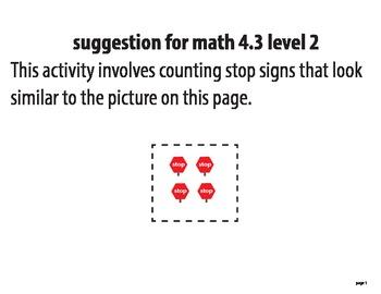 STAAR ALT MATH 4.3 level 2 activity SUGGESTION (activity 1)