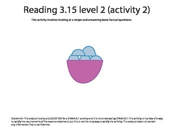 STAAR ALT Reading 3.15 Level 2 (activity 2) SUGGESTION