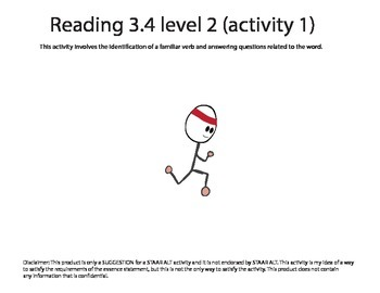 STAAR ALT Reading 3.4 level 2 (activity 1) SUGGESTION
