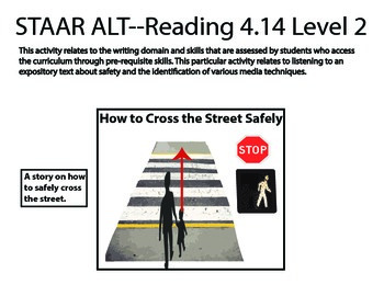 STAAR ALT READING 4.14 level 2 (activity 1) SUGGESTION