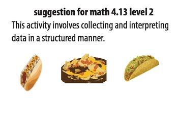 STAAR ALT MATH 4.13 level 2 (activity 2) SUGGESTION