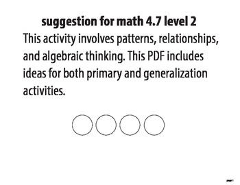 STAAR ALT--MATH 4.7 level 2 SUGGESTION (includes 2 activities)