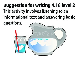 STAAR ALT WRITING 4.18 level 2 (activity 1) SUGGESTION