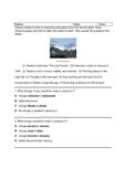 STAAR Alaska Editing Writing Test