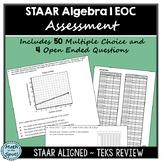 STAAR Algebra 1 EOC Assessment