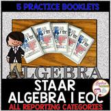 STAAR Algebra I EOC Review Practice Booklet BUNDLE