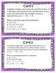 STAAR/EOC Algebra I Task Cards A.2A Domain and Range