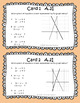 STAAR/EOC Algebra I Task Cards A.2I and A.5C Systems of Linear Equations