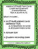 STAAR/EOC Algebra I Task Cards A.3E and A.7C Linear and Quad Transformations