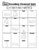 STAAR-Aligned Daily 5 Reading Element Quizzes