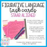 STAAR Aligned Figurative Language Task Cards (TEKS 5.8A)