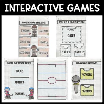 STAAR-Aligned Vocabulary Interactive Notebook
