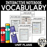 STAAR-Aligned Vocabulary Interactive Notebook