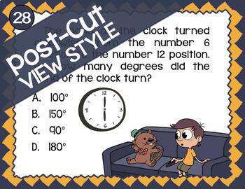 STAAR Angles ★ 4.7A-4.7E ★ TEK-Aligned Math ★ 4th Grade STAAR Math Review