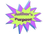 STAAR Author's Purpose Form Reading Worksheets for Any Nov