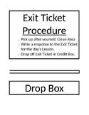 STAAR Biology EOC Exit Ticket Drop Box