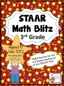 STAAR Blitz:  Grade 3  Updated!!