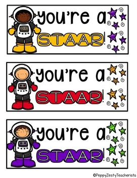 STAAR Bookmarks