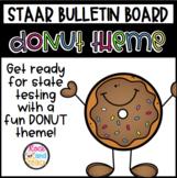 STAAR Bulletin Board- Donut Theme