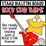 STAAR Bulletin Board - Rock Star Theme