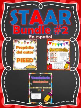 STAAR Bundle #2 Homografos - Secuencia - Proposito del autor