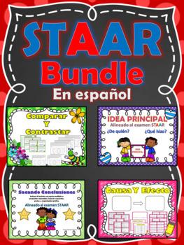 STAAR Bundle 4 en 1 - Idea Principal - Sacando Conclusion - Causa y Efecto