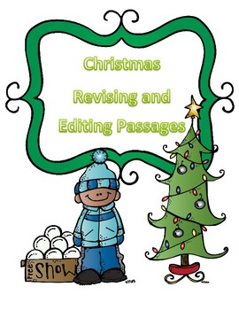 STAAR Christmas Grammar Passages: Revising Passage and Editing Passage