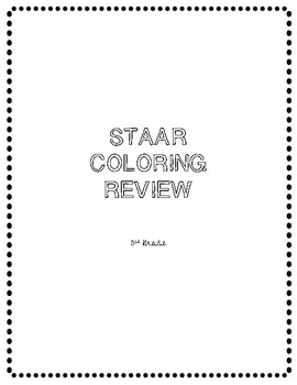 STAAR Coloring Review
