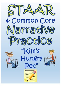 """STAAR  Reading Comprehension Practice- """"The Hungry Pet"""""""