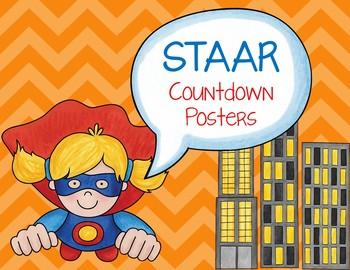 STAAR Countdown Posters