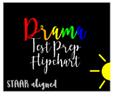 STAAR DRAMA Strategy and Vocabulary Lessons Flipchart