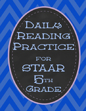STAAR Daily 5th Grade Reading Practice for State Standardi