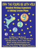 Detailed Expository Purpose & Product Lesson Plans with Da