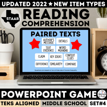 STAAR Drama PowerPoint Game