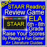STAAR ELA Reading Review Game II Grades 6 - 8