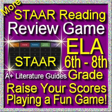STAAR ELA Reading Review Game IV Grades 6 - 8