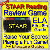 Reading STAAR Review Game V Grades 6 - 8