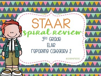 STAAR Reading Review {Category 2} Test Prep