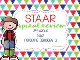 STAAR Reading Review {Category 3} Test Prep
