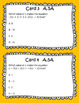 STAAR/EOC Algebra I Task Cards: Equations, Expressions, Exponents