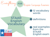 STAAR/ EOC: English 1 & 2 Vocabulary