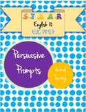 STAAR EOC English 10 Persuasive Essay Prompt - Animals